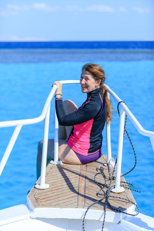 Feedback Seminar Aegypten Tierarzt Dr Wontorra Catherine auf Schiff